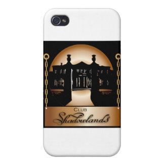 Orange Shadowlands Logo Cases For iPhone 4