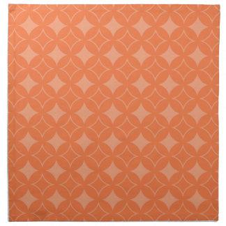 Orange shippo napkin