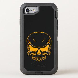 orange skull head OtterBox defender iPhone 8/7 case