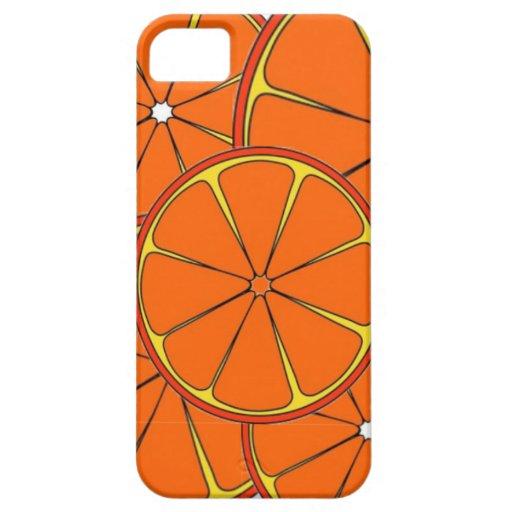 Orange Slice Design iPhone 5 Cases