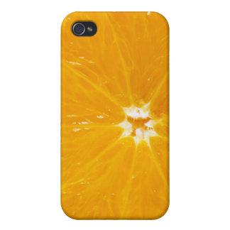 orange slice iPhone 4 cases