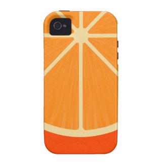 Orange Slice iPhone 4 Covers