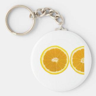 orange slice key chain