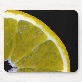 Orange slice mouse pad