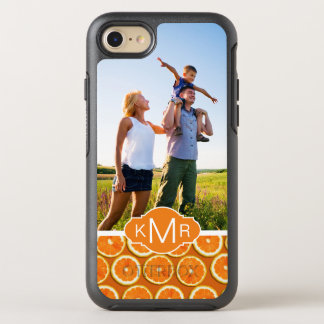 Orange Slice Pattern | Add Your Photo OtterBox Symmetry iPhone 8/7 Case