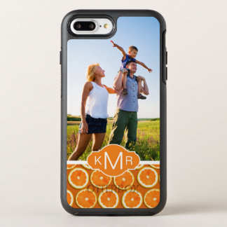 Orange Slice Pattern | Add Your Photo OtterBox Symmetry iPhone 8 Plus/7 Plus Case