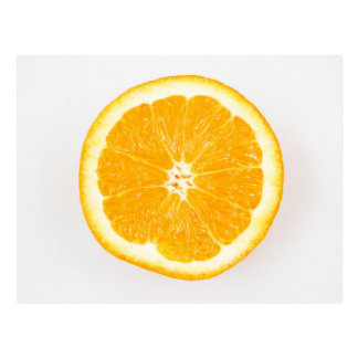 Orange slice post cards