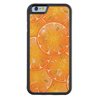 Orange Slices Carved® Maple iPhone 6 Bumper