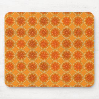 Orange Slices Collage Mousepads