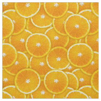 Orange slices fabric