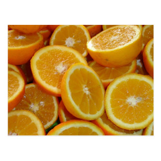 Orange Slices Postcard