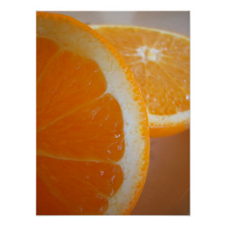 Orange Slices Poster