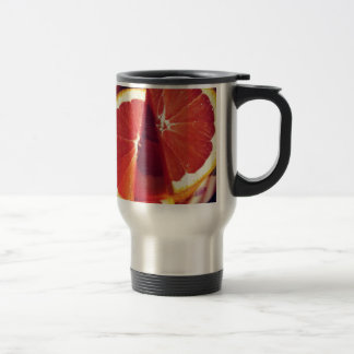 Orange Slices -- Tangerine Dream! Stainless Steel Travel Mug