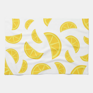 Orange Slices - White Tea Towel