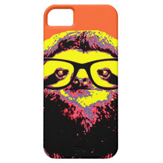 Orange Sloth Barely There iPhone 5 Case