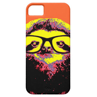 Orange Sloth iPhone 5 Cases
