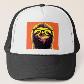 Orange Sloth Trucker Hat