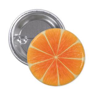 Orange Small, 1¼ Inch Round Button