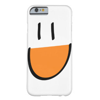 Orange Smiley Face iPhone 6 Case