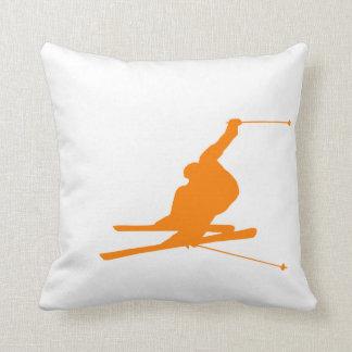 Orange Snow Ski Cushion