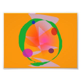 Orange Space Photo