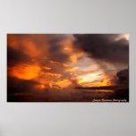 Orange Spendor Sky Print