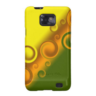 orange spiral Case-Mate Case Samsung Galaxy SII Case
