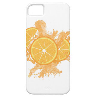 Orange Splash Barely There iPhone 5 Case