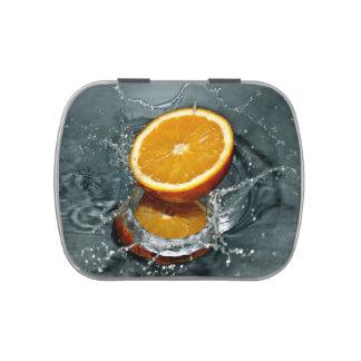 Orange Splash candy tins