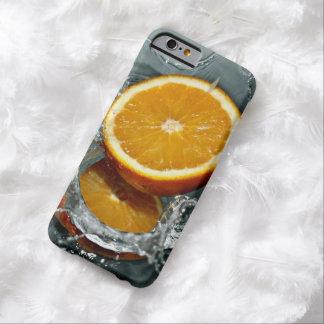 Orange Splash custom cases Barely There iPhone 6 Case