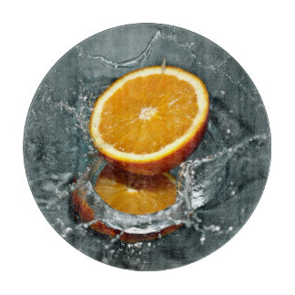 Orange Splash cutting board