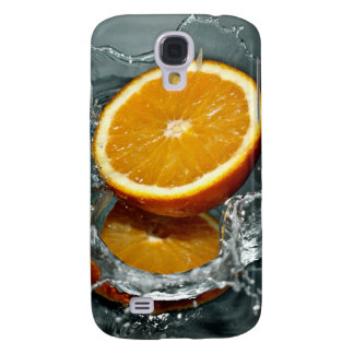 Orange Splash HTC cases