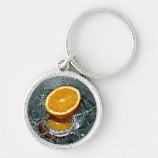 Orange Splash key chains