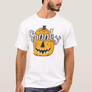 Orange Spooky Pumpkin T-Shirt