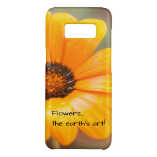 Orange Spring Flash African Daisy Photograph Case-Mate Samsung Galaxy S8 Case