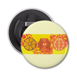 Orange Squash Dance Bottle Opener
