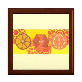 Orange Squash Dance Jewellery Box