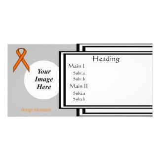 Orange Standard Ribbon Template