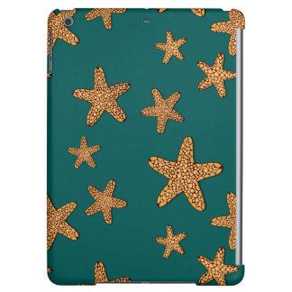 Orange Starfish Pattern