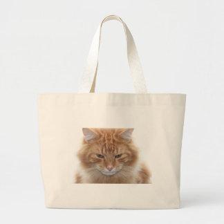 Orange Stripped Tabby Cat Bags