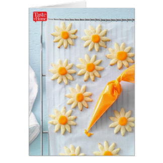 Orange Sugar Cookies Card