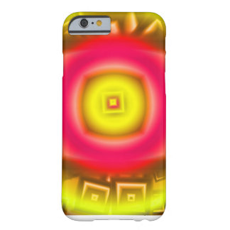 Orange Sun Abstract Barely There iPhone 6 Case