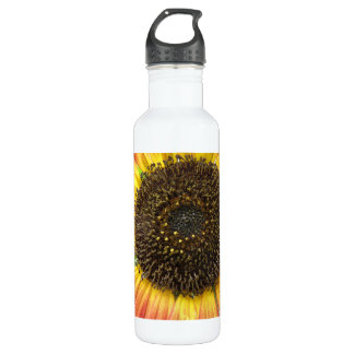Orange Sunflower 710 Ml Water Bottle