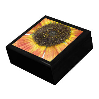 Orange Sunflower Gift Box