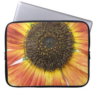 Orange Sunflower Laptop Bag