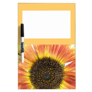Orange Sunflower Memo Board