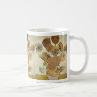 Orange Sunflowers, Vincent Van Gogh, Holland flowe Coffee Mug