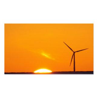 Orange Sunset Business Card