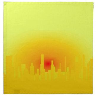 Orange Sunset Napkin