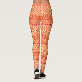 Orange Sunshine leggings